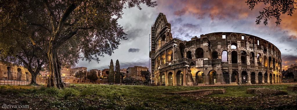 4k Hd Wallpapers Panorama Coliseo Roma Italia Dleiva Com Domingo