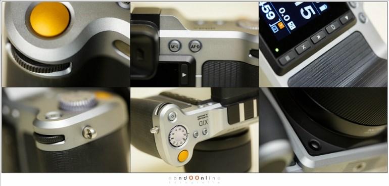 Details van de Hasselblad X1D-50c
