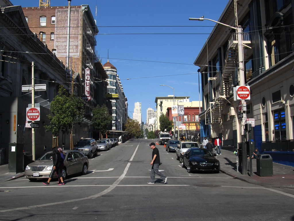 Jones Street Tenderloin San Francisco California  Flickr