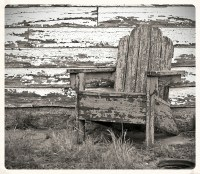 This Old Chair | Abandoned Route 66 motor court. | CD01 ...
