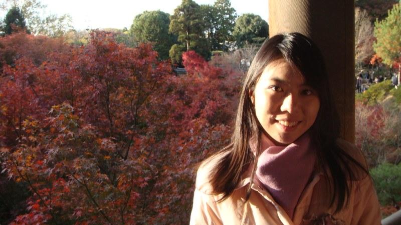 夕陽下的通天橋楓紅,超美