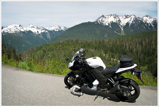 The Kawi takes its first trip to Mount Baker