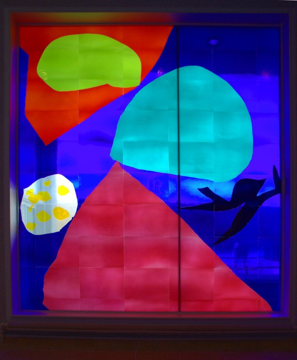 Patrick Heron Stained Glass Window Tate St Ives