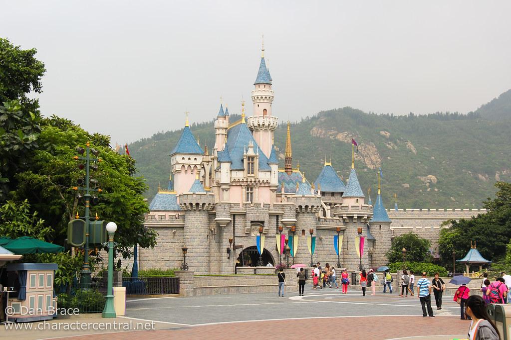 Sleeping Beauty Castle Hong Kong Disneyland Hong Kong