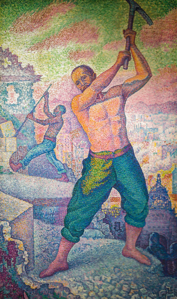 Paul Signac  The Demolisher 1899 at Muse dOrsay Paris