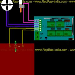 Reprap Wiring Diagram Omron My2n 24vdc Relay Ramps Electronics For Prusa I3 3d Printer