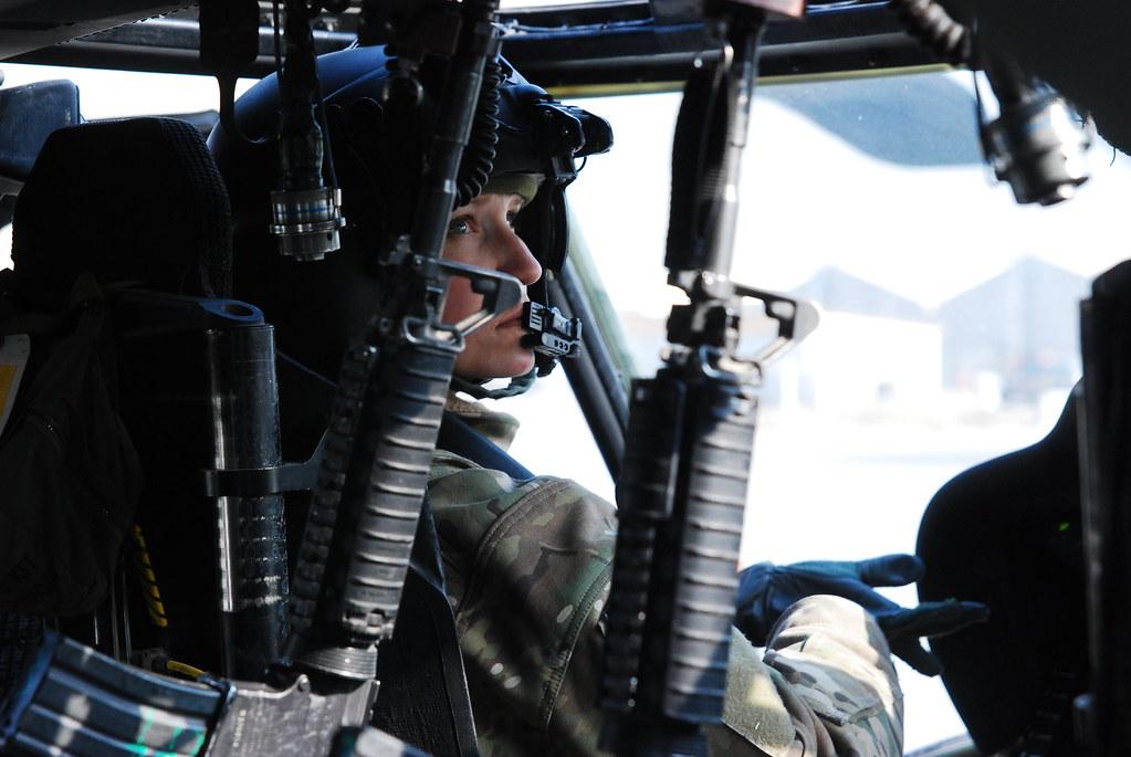 Pilot In Action Capt Lisa Klekowski A Uh 60m Black