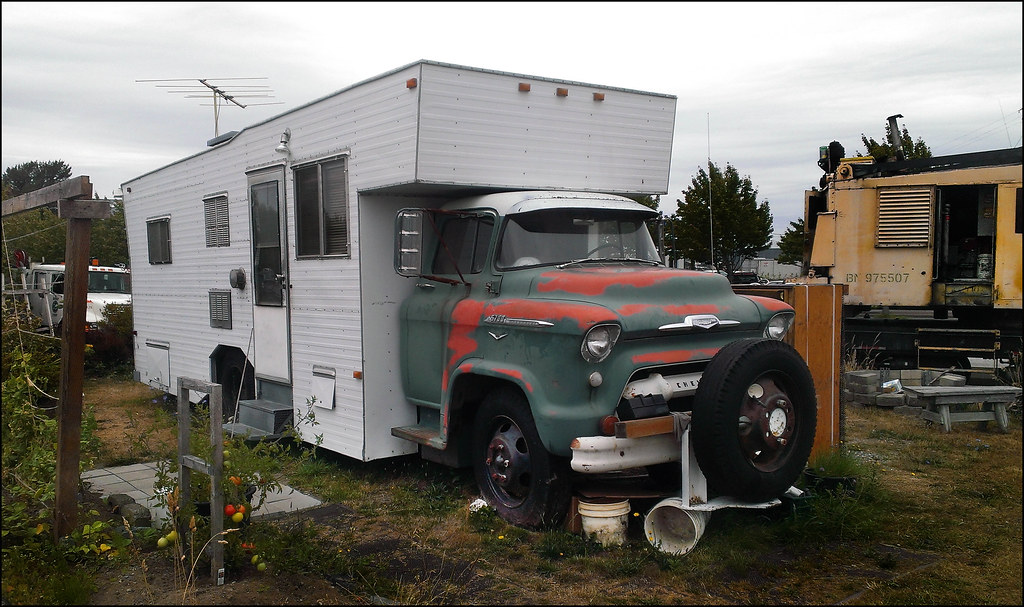 Chevrolet 5700 Camper  An RV from the 60s Just two days