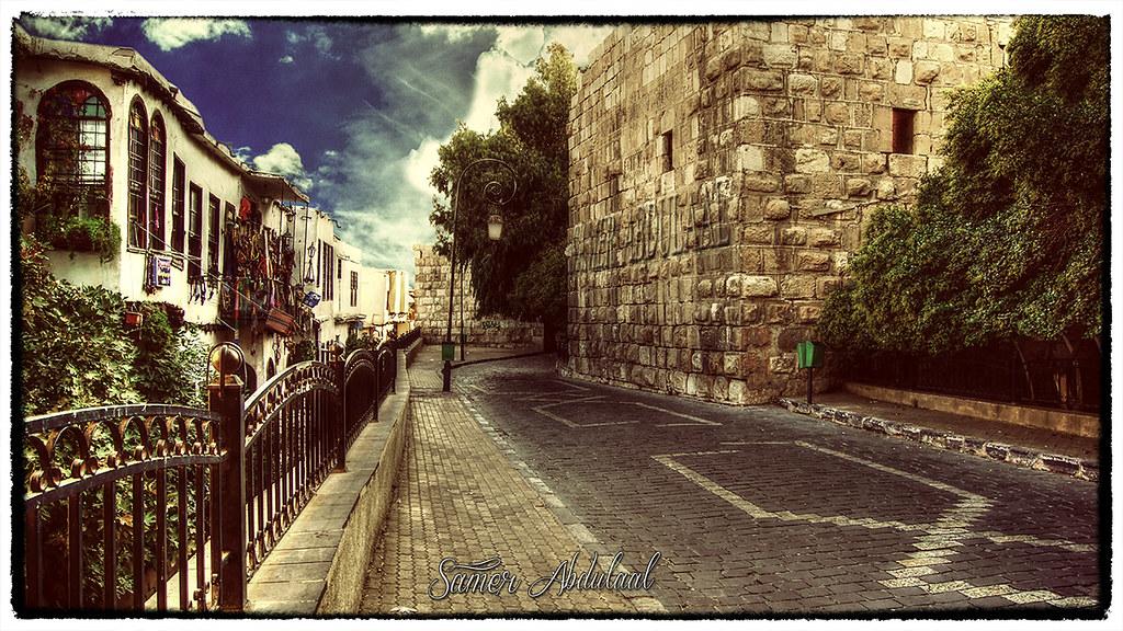 شارع الكلاسة دمشق القديمة  Old Damascus  شارع الكلاسة