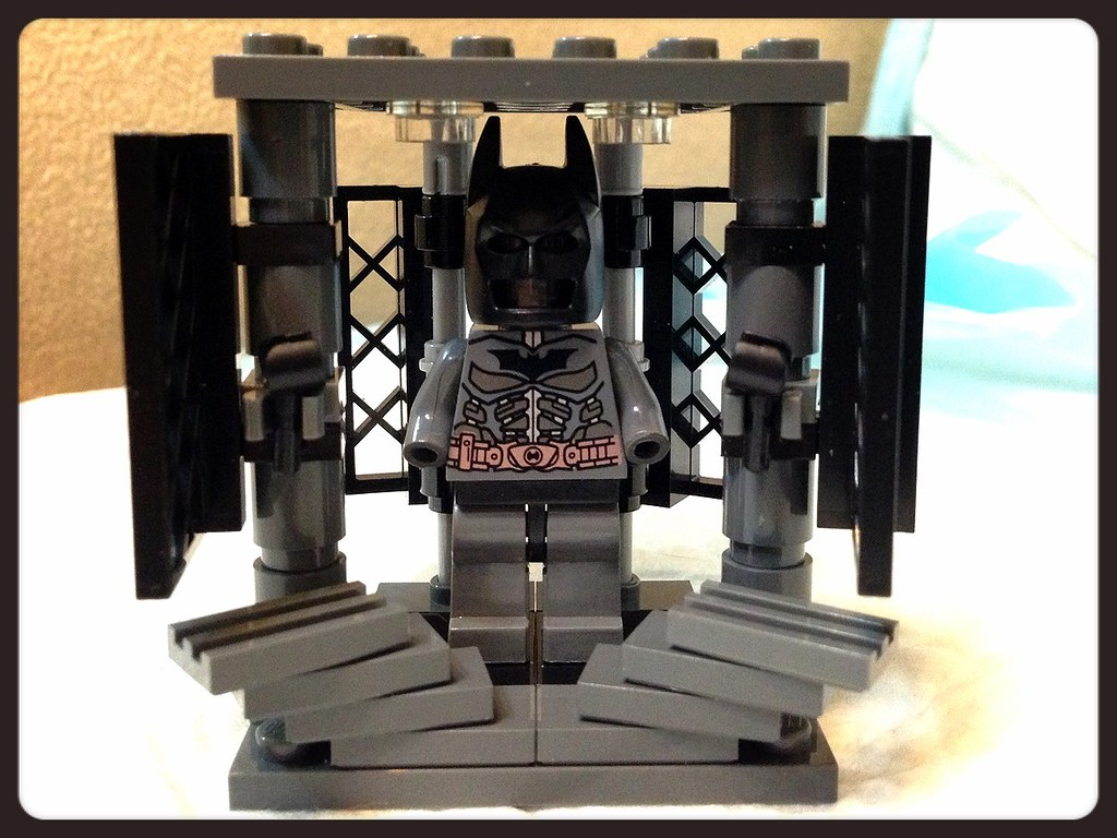 Batman Armory Movie Scene Lego Moc GantzGuru Flickr