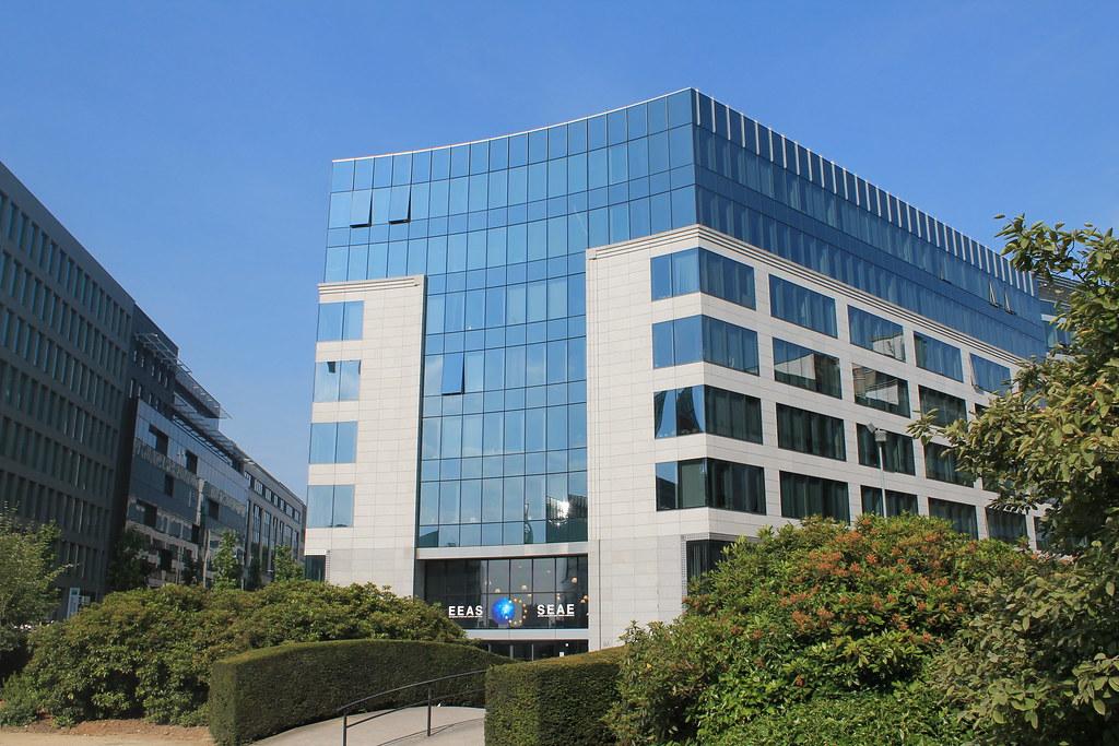 EEAS Building Brussels European External Action Service