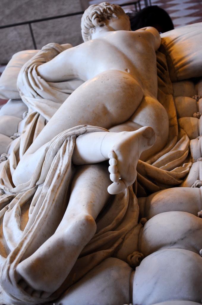 hermafrodita 2  Museo del Louvre wwwlouvrefrenoeuvre