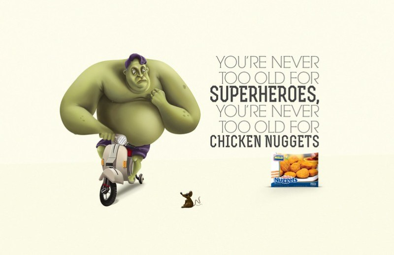 Melo Nuggets - Superheroes Hulk