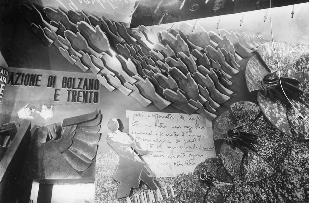 La Mostra della Rivoluzione Fascista del 1932 Interiors