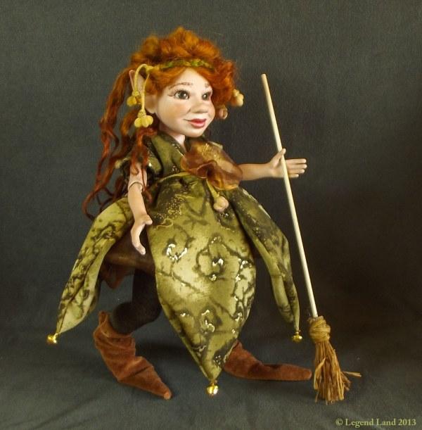 Witch Porcelain Doll Bjd Ooak Dolls Fantasy
