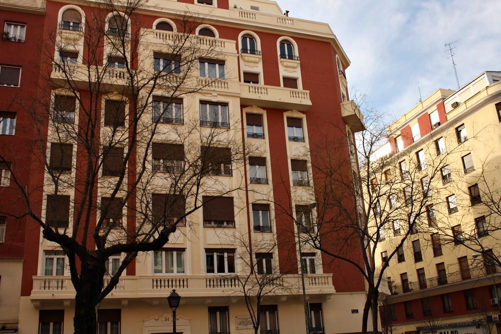 Casa natal de Plcido Domingo Calle Ibiza Madrid  Flickr