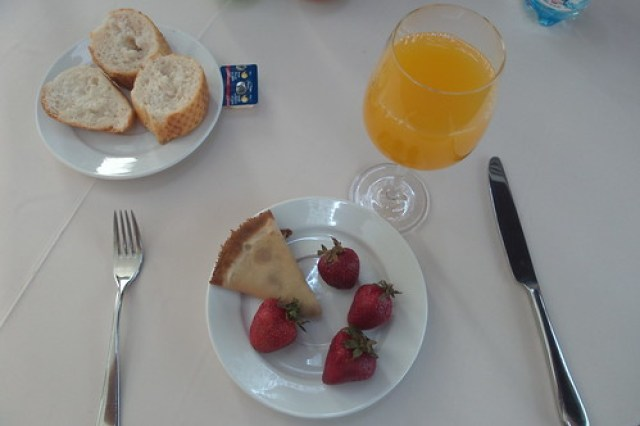 30. Ontbijt in hotel