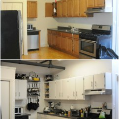 New Kitchen Cabinet Doors Clear Glass Pendant Lights For Island Before And After: | (replaced Cabinet/laundry ...