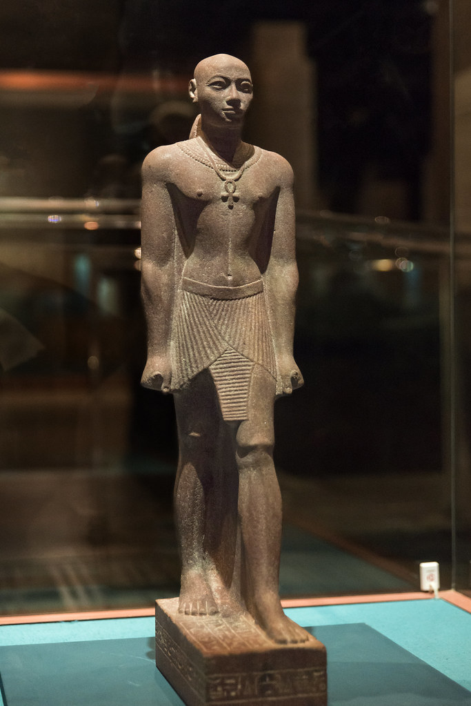 Statue of Prince Horemakhet High priest of Amun 25th dyn