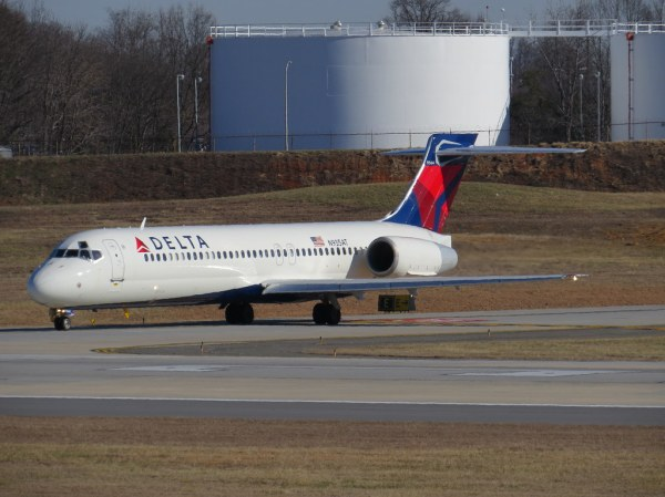 Delta Airlines 717200 N935AT Viewed from the airport