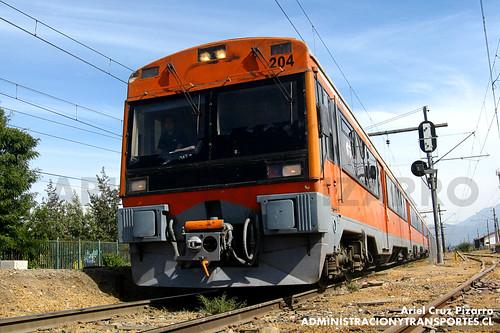 Metrotren - Paine - CAF UT440R 204