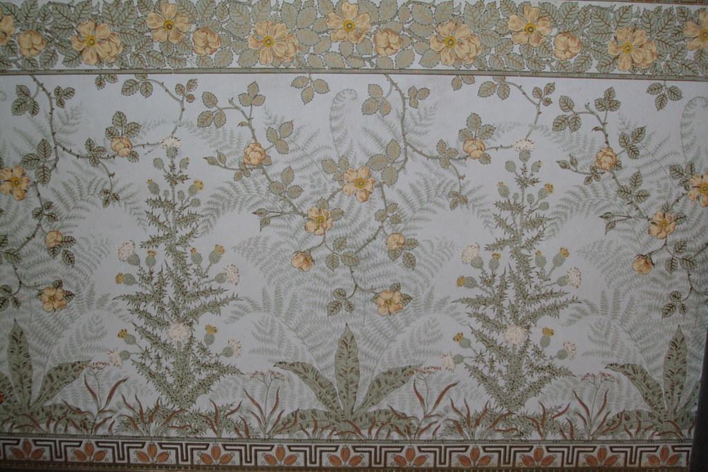 William Morris wallpaper Yallum Park House near Penola Sou  Flickr