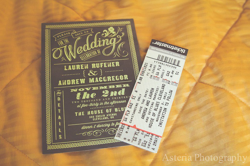 Wedding invitation and concert ticket save the date Andre  Flickr