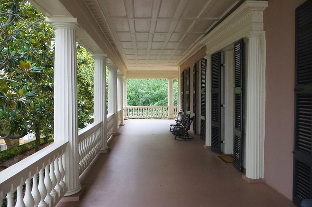 Edmondston-Alston House porch, Charleston, South Carolina, June 12, 2012