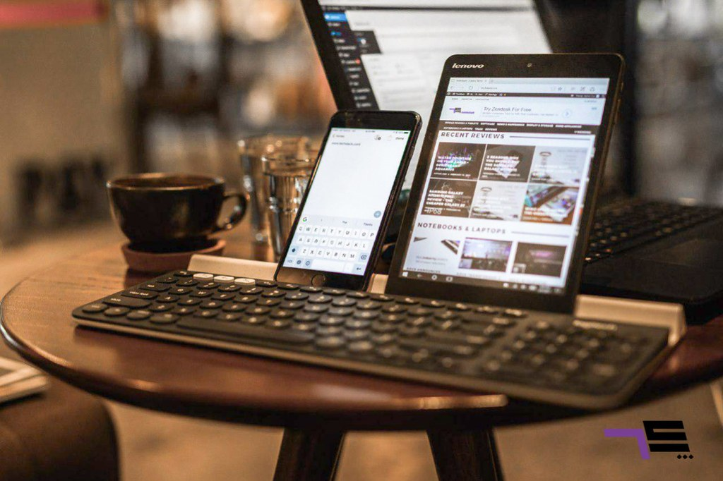 The Logitech K780 is the newest addition of the Logitech K Series.