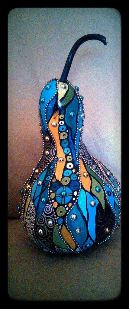 BLUE SKY  Art Deco Gourds  JULIE  Flickr