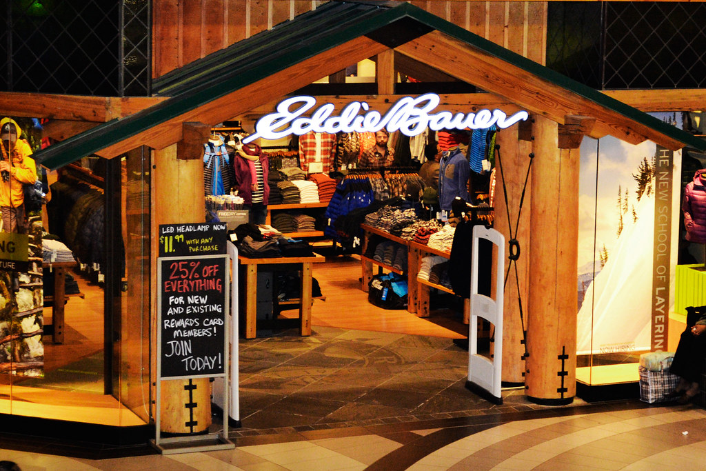 Eddie Bauer Store Canada  This is a photo of the Eddie