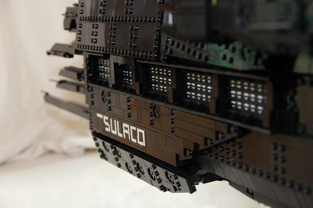 LEGO Aliens USS Sulaco MOC