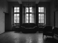 Living room | This former retirement home was located in a ...