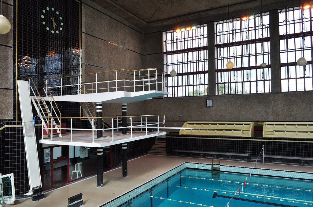 Plongeoir et bassin piscine Judaque 1934 rue Judaque  Flickr