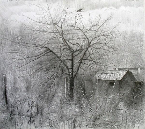 Famous Artist Pencil Landscape Drawings