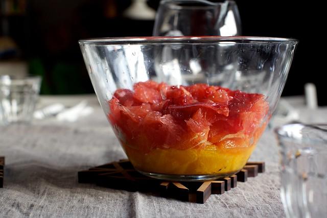 mixed citrus salad