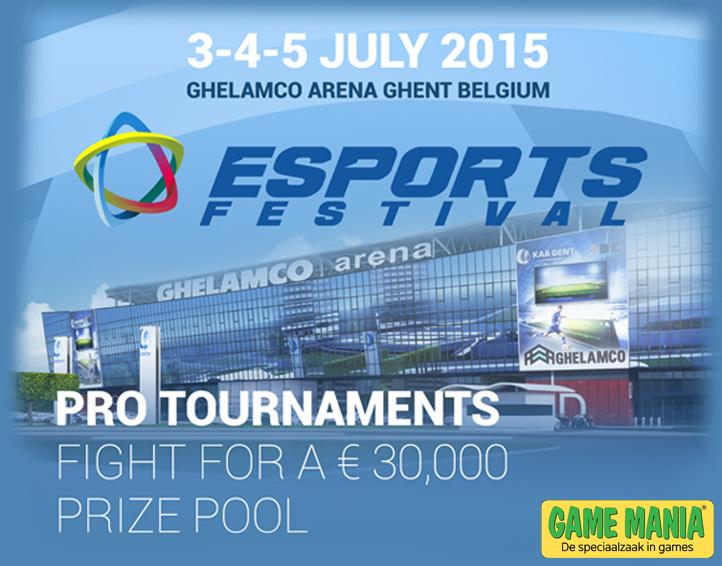 Eerste editie eSports Festival in de Ghelamco Arena in Gent!