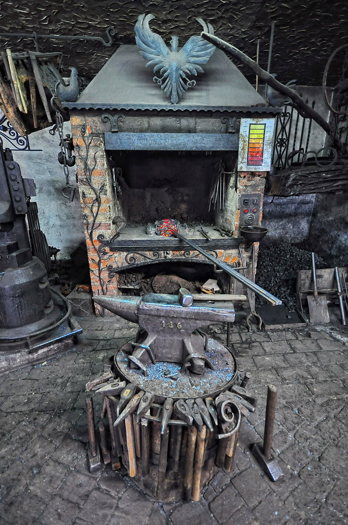 Forgotten Poland  old blacksmith forge   Agi
