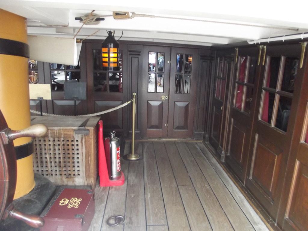 HMS Victory  Portsmouth Historic Dockyard  Quarter Deck