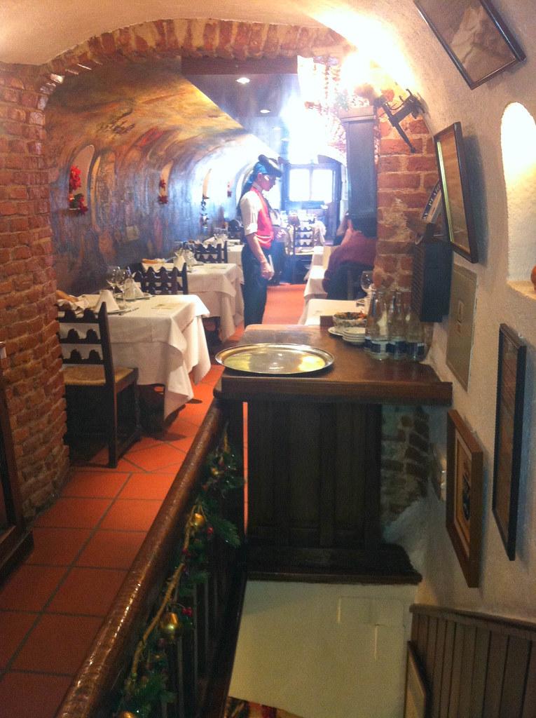 Restaurante Las Cuevas de Luis Candelas  Madrid  Saln del  Flickr