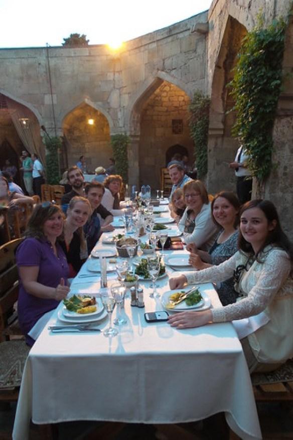 29. Diner in Caravan Sarray