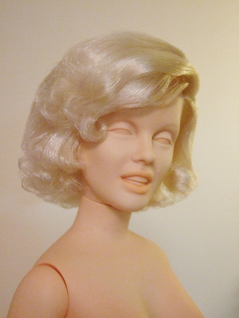 Marilyn Monroe world doll 1983 OOAK  With restyle and origi  Flickr