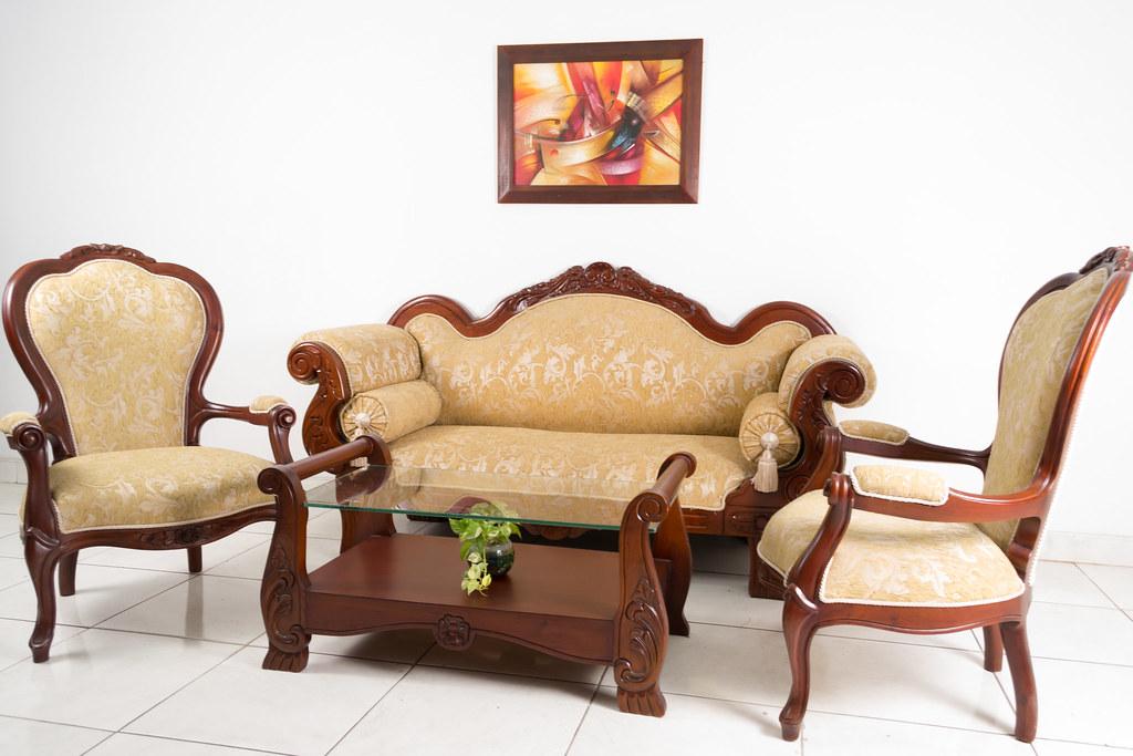 Juego Sala Isabelina Cheiln  Centro Muebles Cali es el