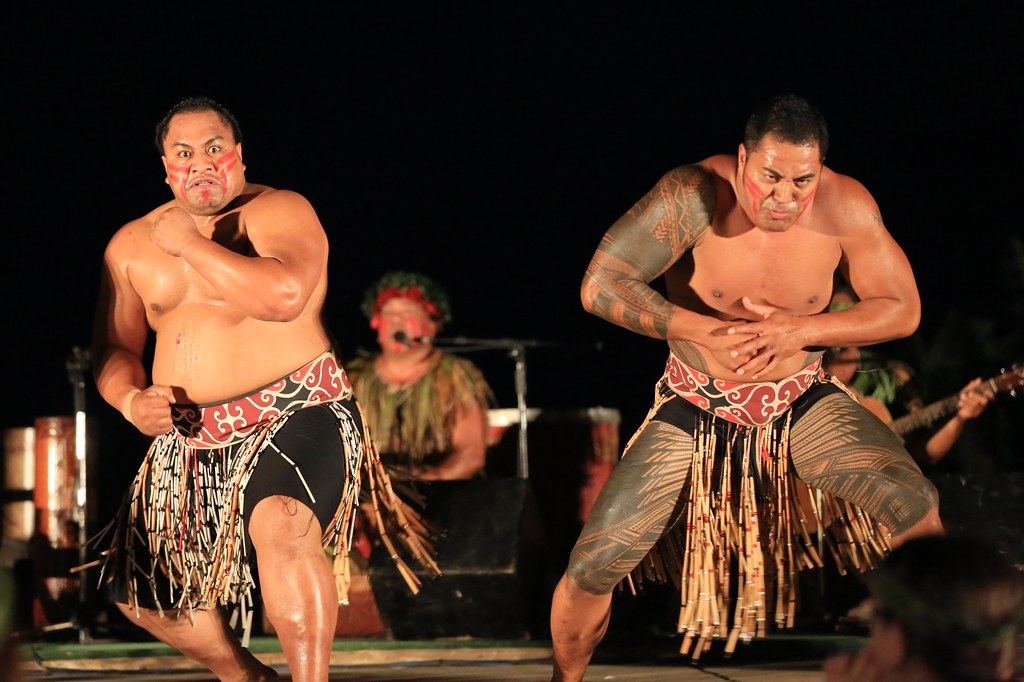 Haka  What a Maori haka was doing in a Hawaiian luau