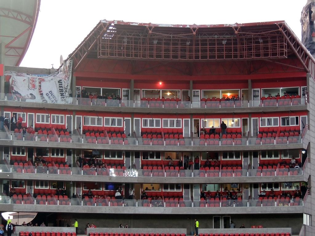 Construccin Estadio Caliente  TjDragon  Flickr