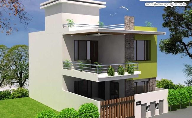 Simple Modern Duplex House Design Simple Modern Duplex