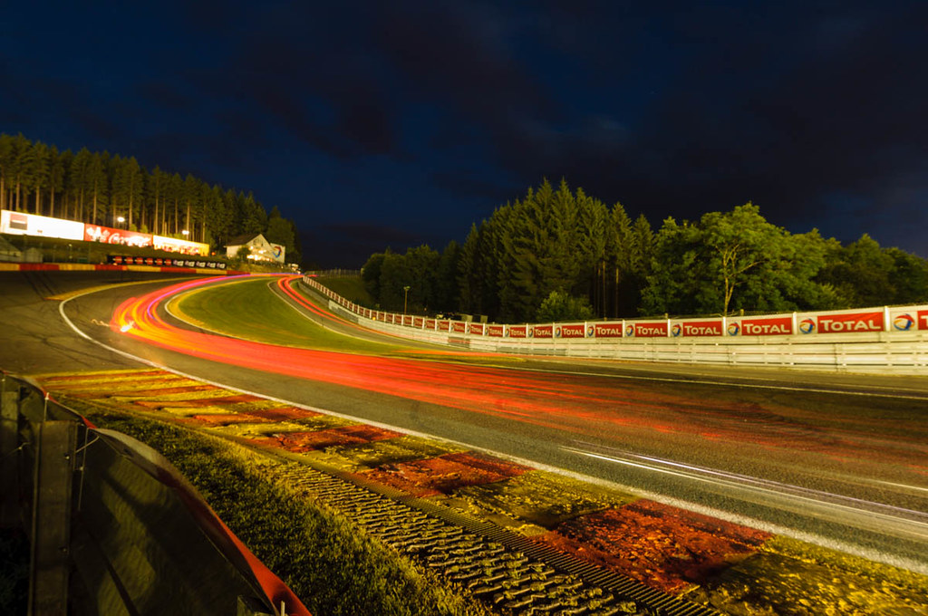 Fall Wallpaper Hd Eau Rouge At Night 24 Hours Of Spa Rob Blank Flickr