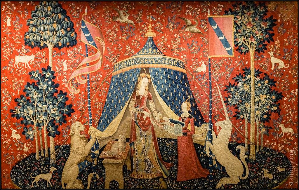 Mon Seul Desir  One of six tapestries under the name