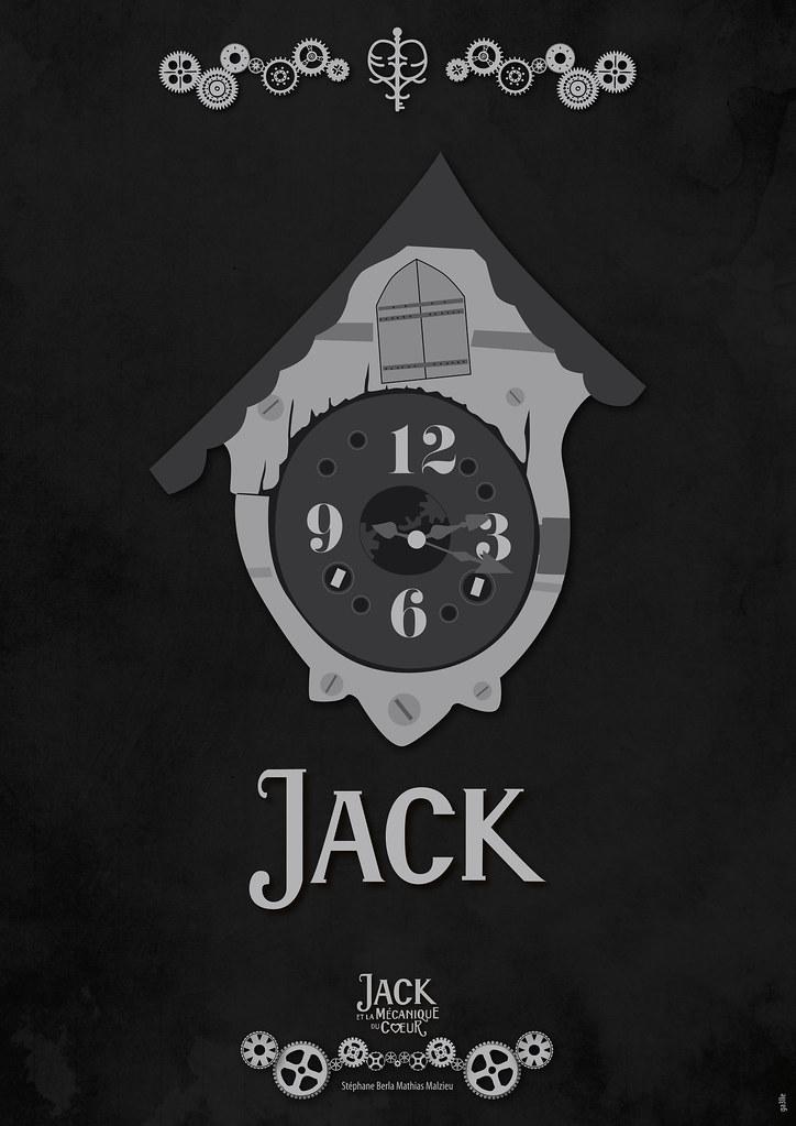 Jack  Jack et la mcanique du coeur  Fanart poster