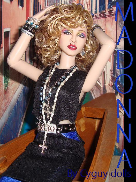 Madonna Like a virgin doll  UP ON EBAY SOON Madonna from